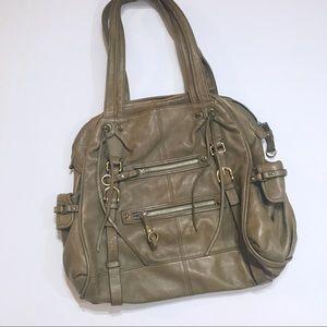 Junuor Drake Leather Shoulder Bag